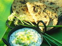 Chapatis with Raita recipe