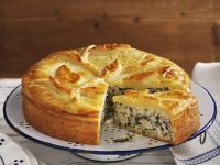 Chard Double Pastry Pie recipe