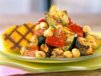 Charred Veggies with Cornmeal recipe