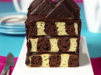 Checkerboard Loaf Cake recipe