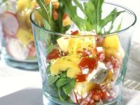 Cheese and Arugula Salad recipe
