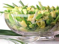 Cheese and Avocado Salad recipe