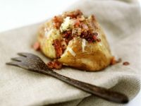 Cheese and Bacon Stuffed Potatoes recipe