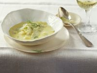 Cheese and Fennel Soup recipe