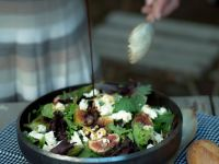 Cheese and Fig Salad recipe