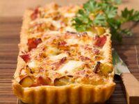 Cheese and Prosciutto Slice recipe