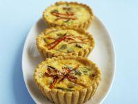 Cheese and Scallion Tarts recipe