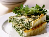 Cheese and Spinach Pastry Pie recipe