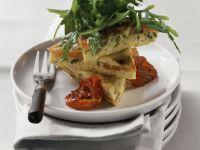 Cheese and Tomato Frittata recipe