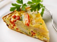 Cheese and Vegetable Frittata recipe