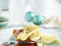Cheese and Vegetable Stacks recipe