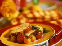 Cheese Bruschetta with Tomatoes recipe