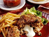 Cheese-Filled Meatballs recipe