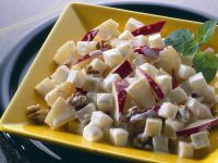 Cheese, Pineapple and Apple Salad recipe