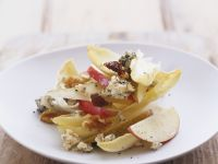 Cheese Salad with Endive, Walnut and Apple recipe