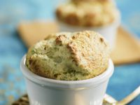 Cheese Soufflé with Herbs recipe