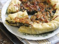 Soft Cheese and Green Leaf Tart for Celiacs recipe