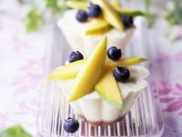 Cheese Tartlets with Fruit recipe