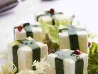 Cheese with Wild Garlic recipe