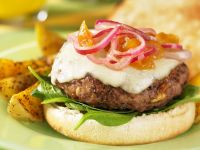 Cheeseburger Bun recipe