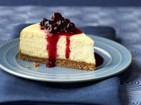 Cheesecake with Blueberry Sauce recipe