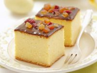 Cheesecake with Candied Fruit recipe