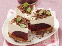 Cheesecake with Cherry Filling recipe