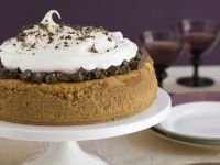 Cheesecake with Chocolate and Cream recipe