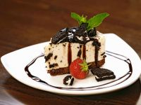 Cheesecake with Chocolate Biscuits recipe