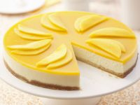 Tropical Fruit Cream Cheese Gateau recipe