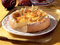 Cheesecake with Oranges recipe
