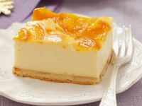 Cheesecake with Peach Topping recipe