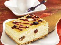 Cheesecake with Raisins recipe