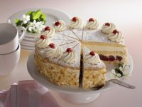 Cheesecake with Sour Cherries recipe