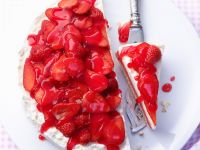 Cheesecake with Strawberry Topping recipe