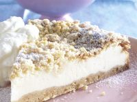 Cheesecake with Streusel Topping recipe
