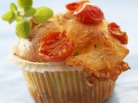 Cheesy Muffins with Basil recipe
