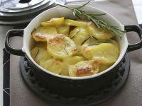 Cheesy Potato and Rosemary Gratin recipe