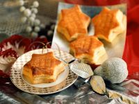 Cheesy Puff Pastry Stars recipe