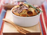 Cheesy Puff Pudding recipe