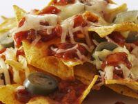 Cheesy Salsa Nachos recipe