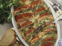Cheesy Turkey and Tomato Gratin recipe