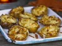 Cheesy Twice Baked Potatoes recipe