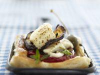 Cheesy Vegetable Tart recipe