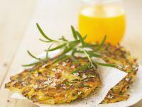 Cheesy Veggie Cakes recipe