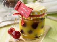 Cherries Preserved in Orange Liqueur recipe
