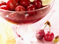 Cherries with Quark Cream recipe