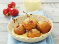 Cherries with Vanilla Custard recipe