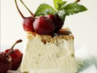 Cherries with Vanilla Ice Cream recipe