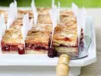 Cherry and Almond Slices recipe
